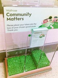 Waitrose Community Coin